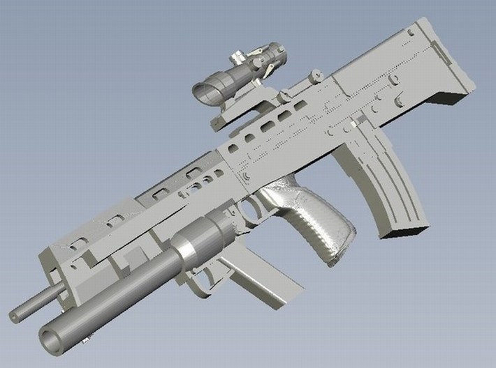 1/18 scale BAE Systems L-85A2 rifles x 3 3d printed