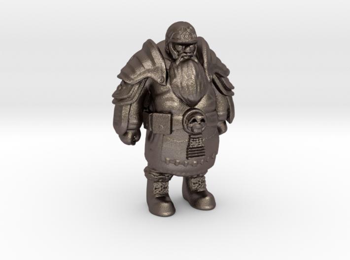 Dwarf-Warrior-13cm 3d printed