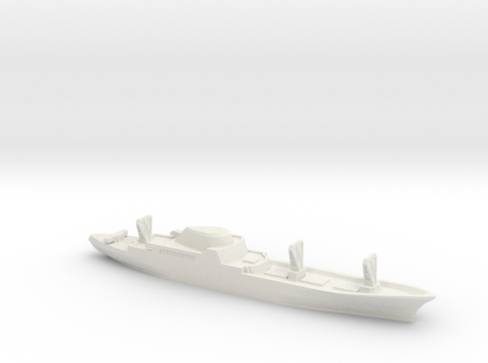 NS Savannah, 1/2400 3d printed