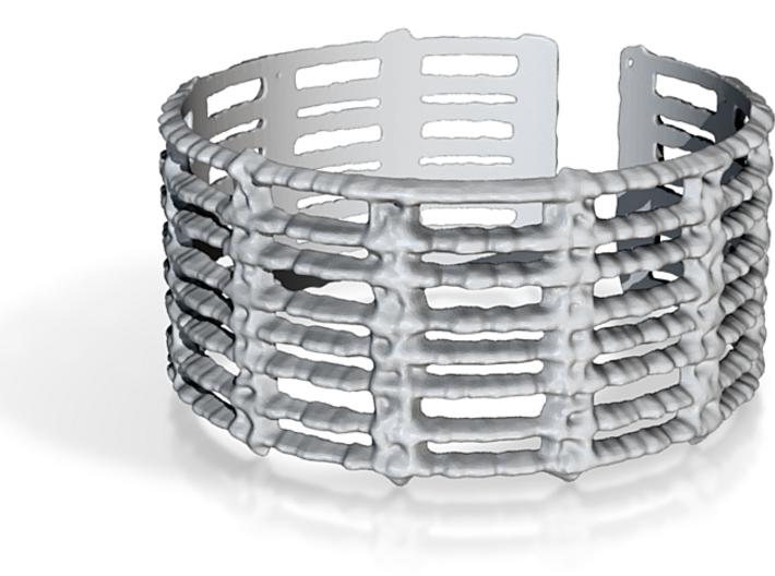 unraveled bracelet 3d printed