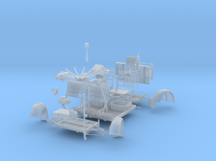 A15-FUD-Fully Operational LRV-Left 3d printed