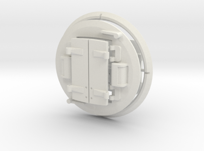 1/16 Cromwell Tank Turret Hatches 3d printed