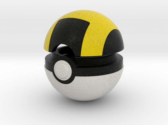 Pokeball (Ultra) 3d printed
