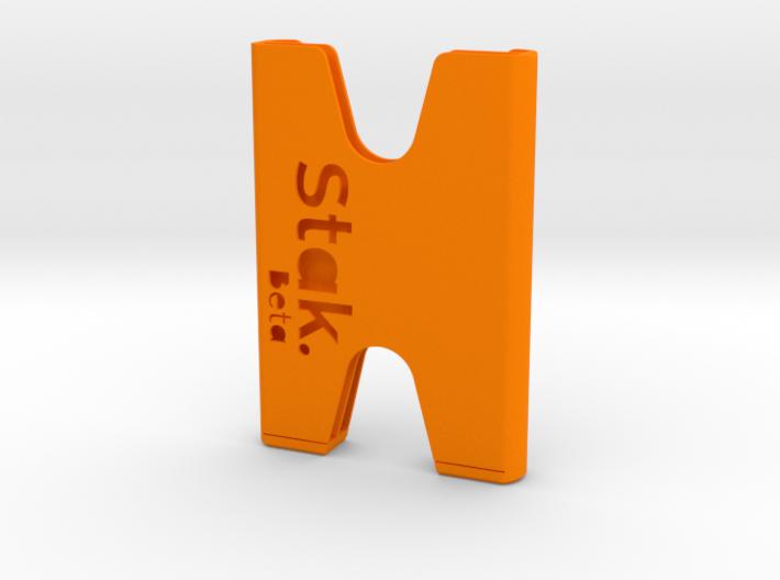 STAK Beta - Minimalist Wallet 3d printed
