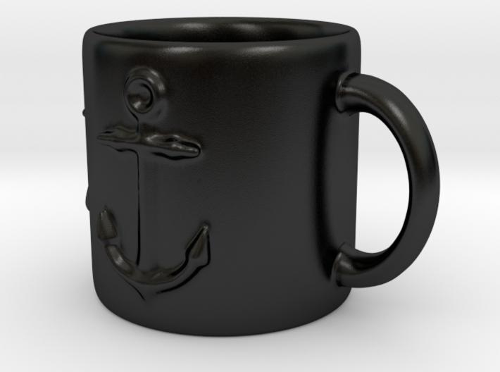 Nautical Anchor Coffee mug 3d printed