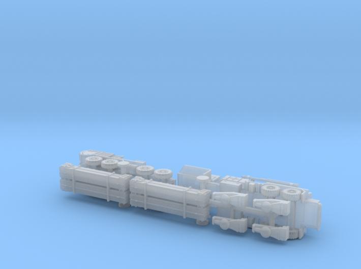 US MIM 104 Patriot PAC-3 traveling 1/285 3d printed