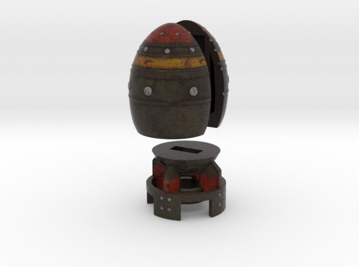 Mini Nuke Flash Drive 3d printed