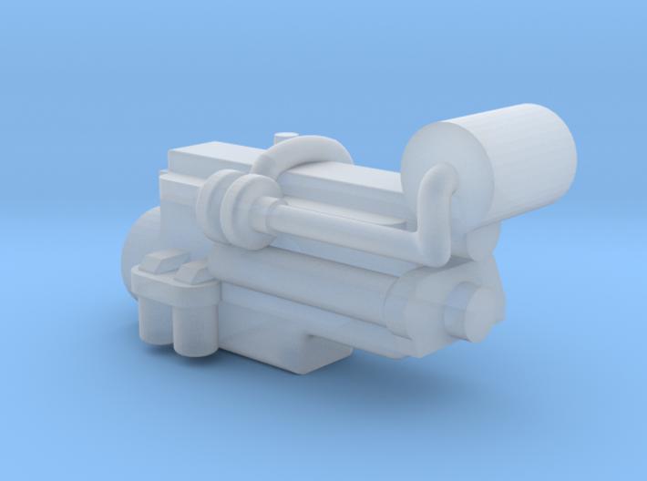 1/64 IH Dt466 Engine 3d printed