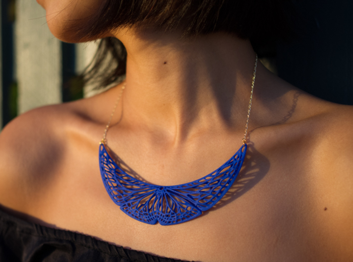 Butterfly Pendant (L) 3d printed