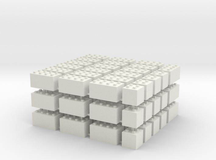 1/87 HO Bausteine fuer Schuettgutboxen, 57+12 3d printed