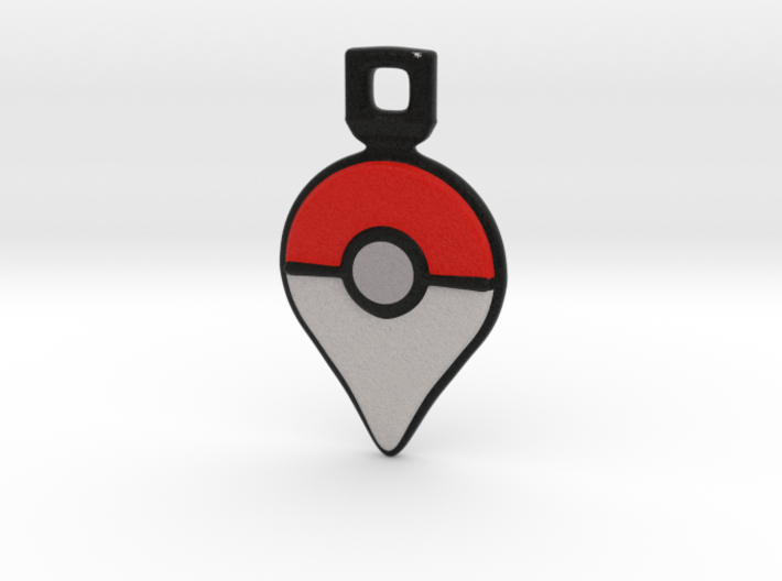 Pokemon GO - Logo Pendant/Necklace/Keychain 3d printed