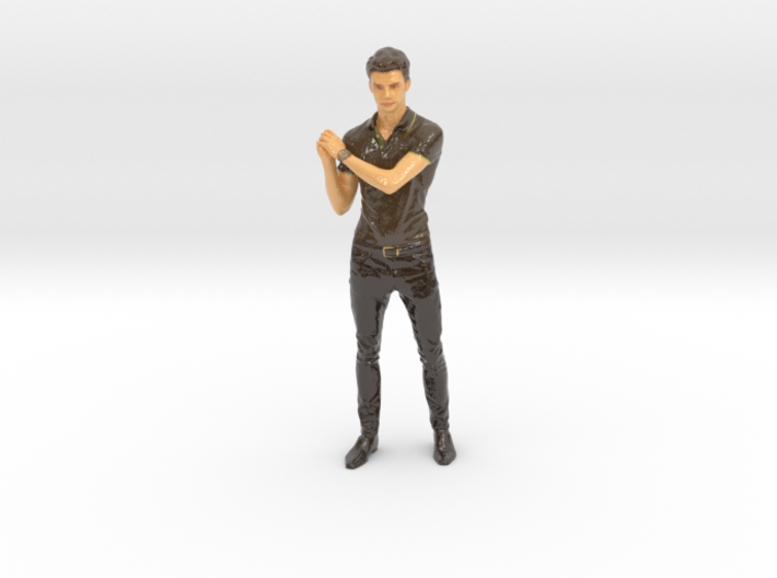 Baseball player pose 3d printed