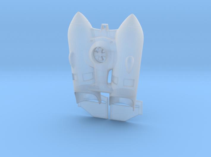 Rocketeer jetpack small 3d printed