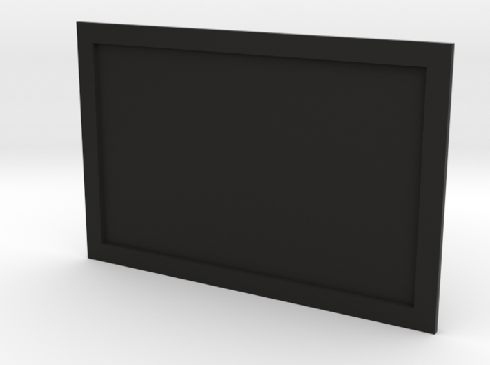 Television or Computer Monitor Screen 1/35th scale 3d printed