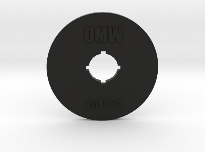 Clay Extruder Die: Coil 013 03 3d printed