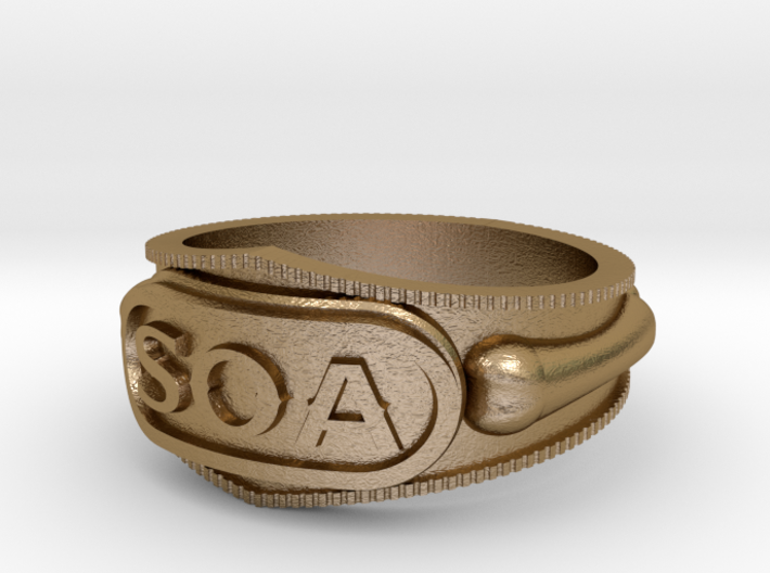 Sons of Anarchy ring 3d printed