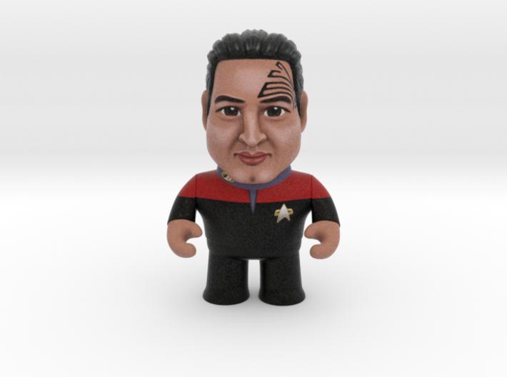 Chakotay Star Trek Caricature 3d printed Chakotay Star Trek Caricature