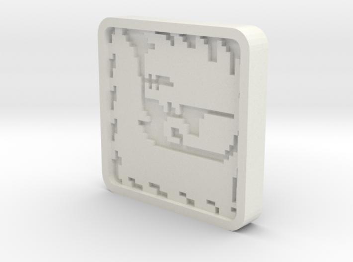 Monster Hunter Generations Glavenus Tile 3d printed