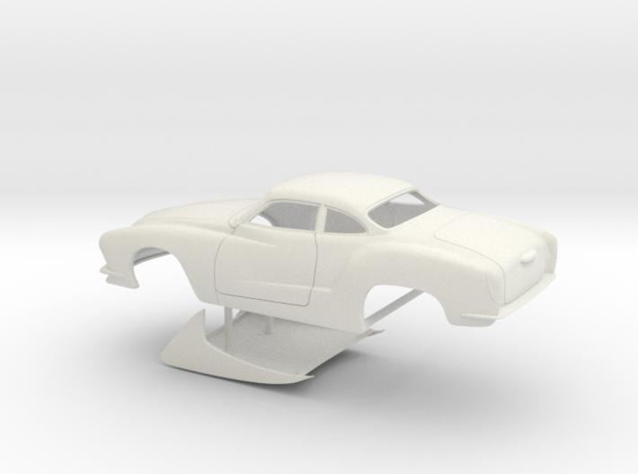 1/16 Legal Pro Mod Karmann Ghia No Scoop 3d printed