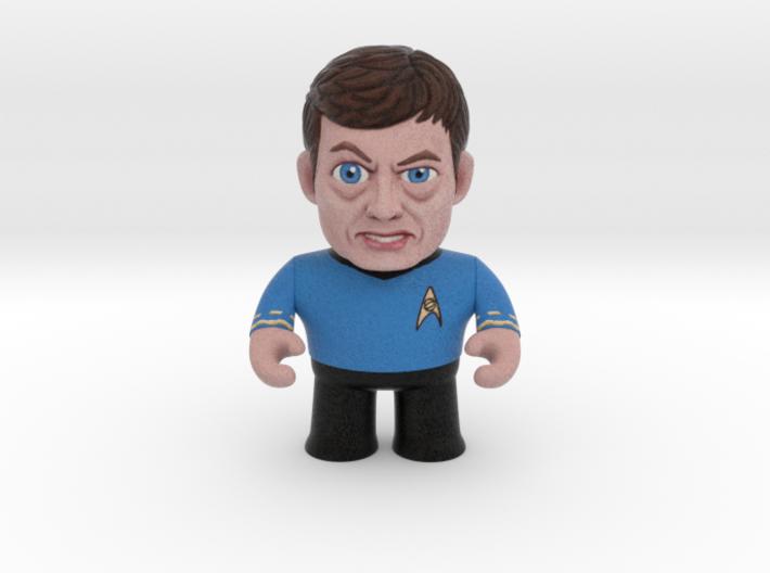 Dr. McCoy Star Trek Caricature 3d printed Dr. McCoy Star Trek Caricature