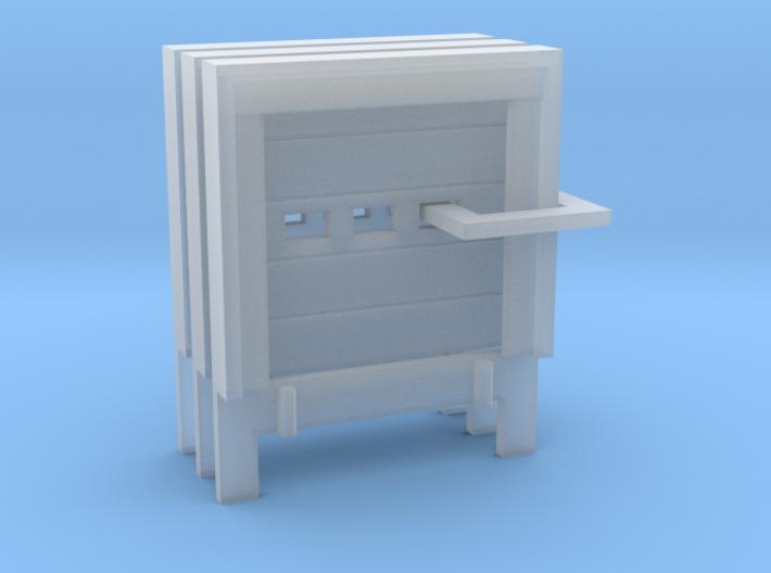 N Scale 3x Loading Dock +Door 3d printed