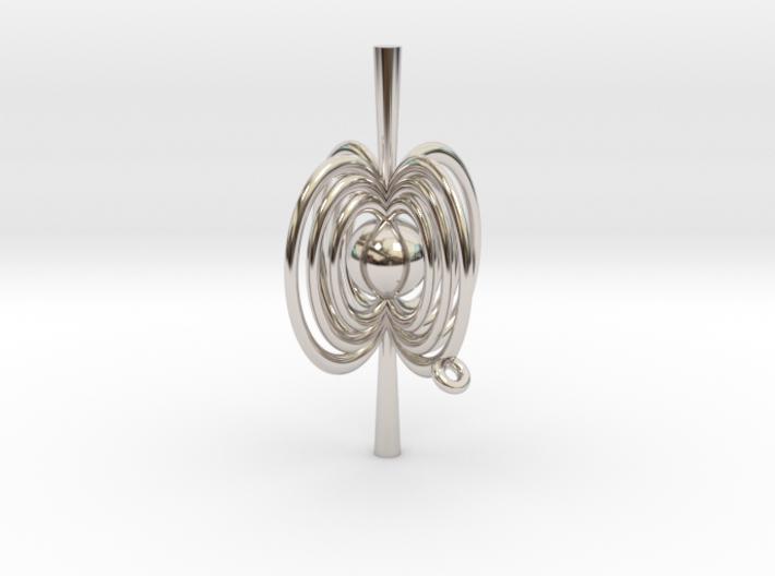 Pulsar Pendant 3d printed