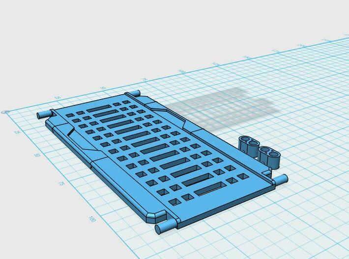 Metroplex TR Adapters 3d printed
