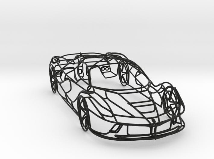Ferrari LaFerrari 3d printed