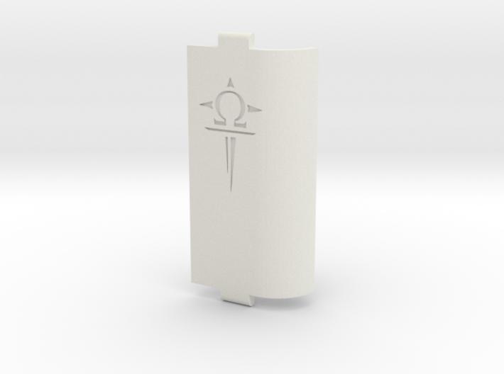 Sportello Con Logo Scavato 2 3d printed