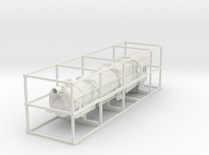 PRR L1 TT Scale Shell w/ details 3d printed