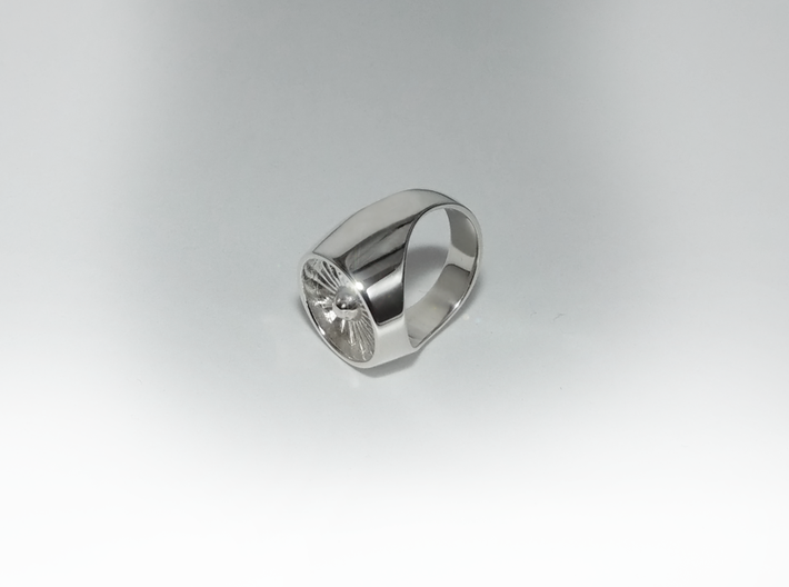 Jet Engine Ring 19 mm 3d printed