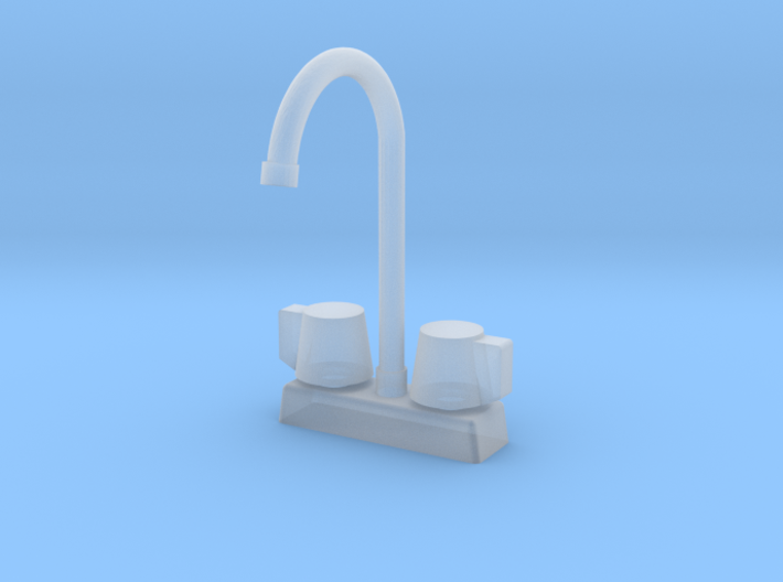 1:48 Commercial Faucet 3d printed