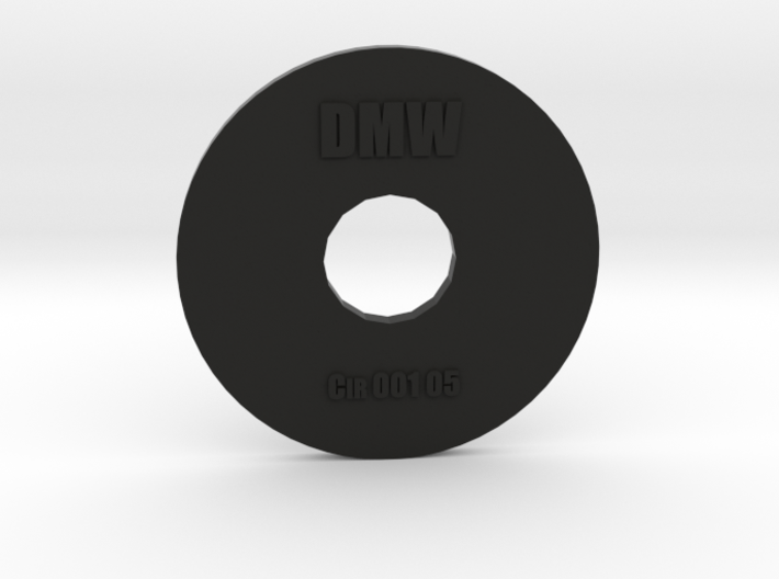 Clay Extruder Die: Circle 001 05 3d printed
