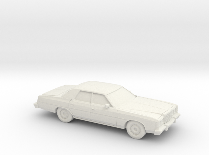 1/72 1977 Ford LTD Sedan 3d printed