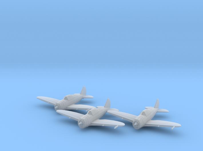 Republic P-43 'Lancer' 1:200 x3 FUD 3d printed