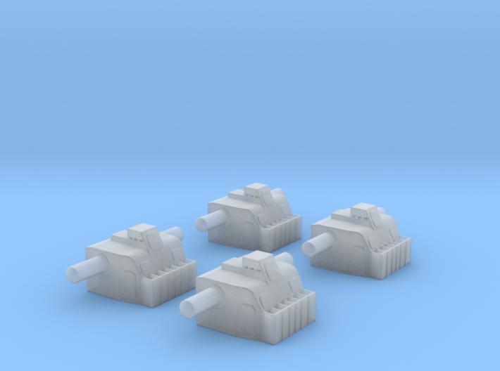1/350 Lion Class Battleship HACS Director 3d printed