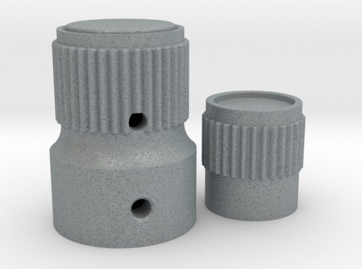 KNOBS FOR SIMULATOR 3d printed