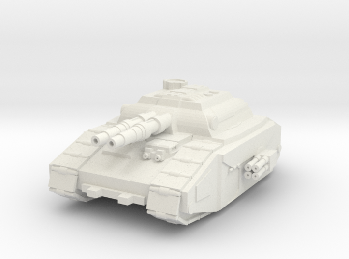 Super Heavy Tank Destroyer 3d printed