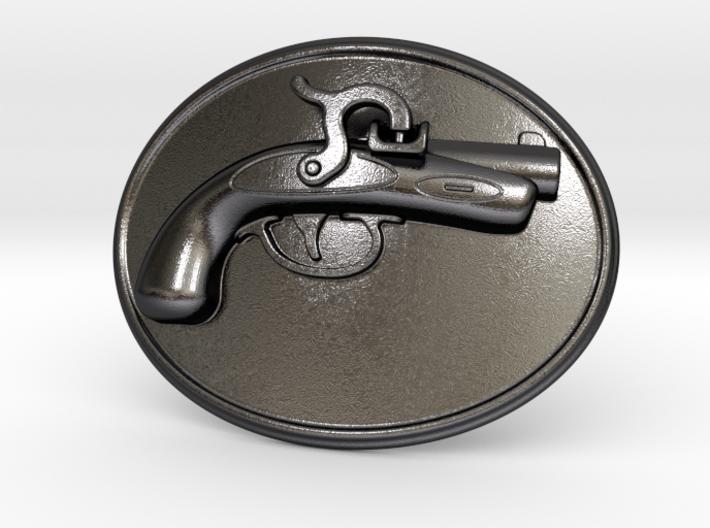 Philadelphia Derringer Belt Buckle 3d printed