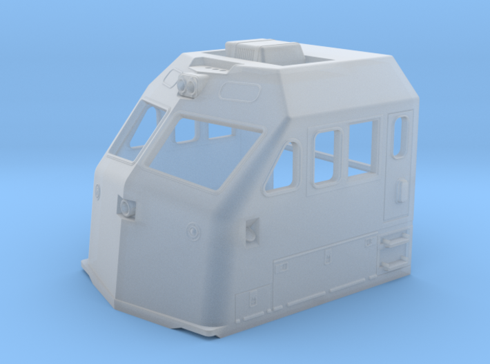 HO F69PH-AC Cab for Kato F40PH 3d printed