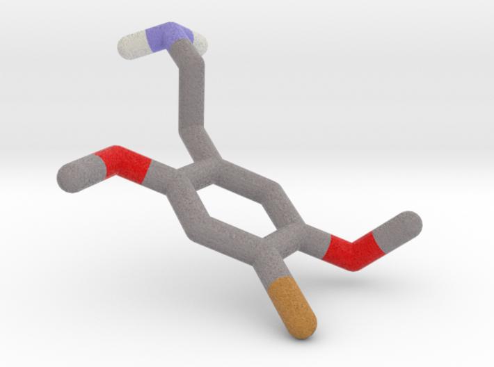 2C-B (2,5-dimethoxy-4-bromo-phenethylamine) 3d printed