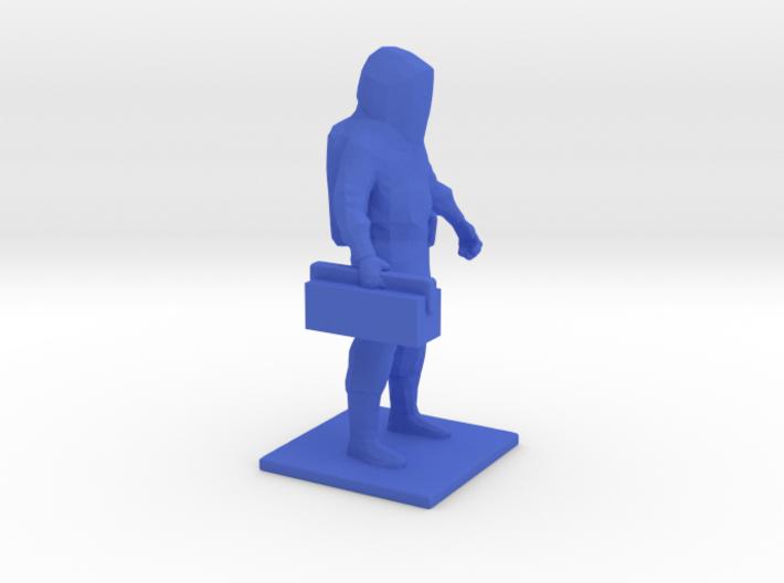 Level A Hazmat Technician w/ Toolbox, 1/64 3d printed