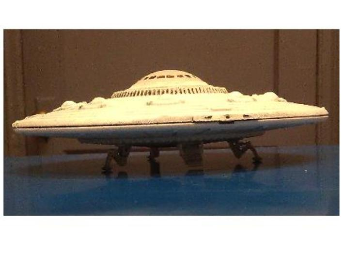 "5"" dia. Scout Ship UFO, Flying Saucer Kit-November 3d printed 3-D Printed, Assembled and Painted Scout Ship"