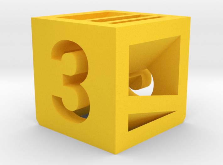 Photogrammatic Target Cube 3 3d printed