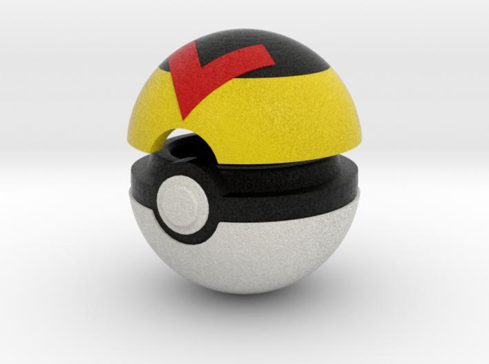 Pokeball (Level) 3d printed