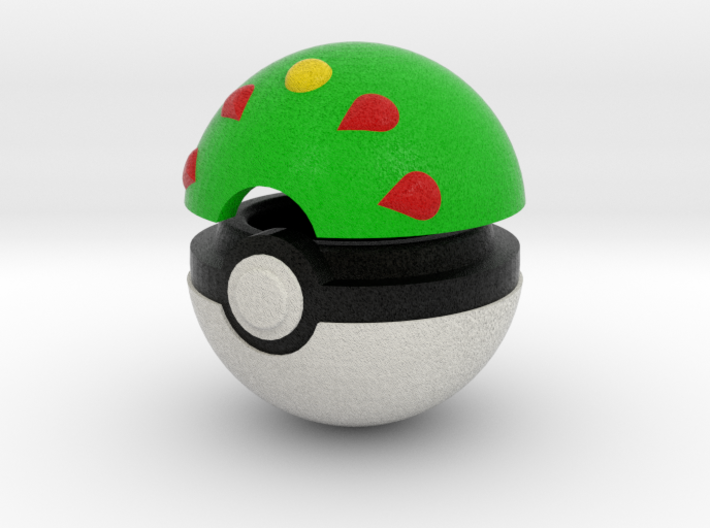 Pokeball (Friend) 3d printed