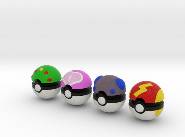 Pokeballs (Set 03) 3d printed