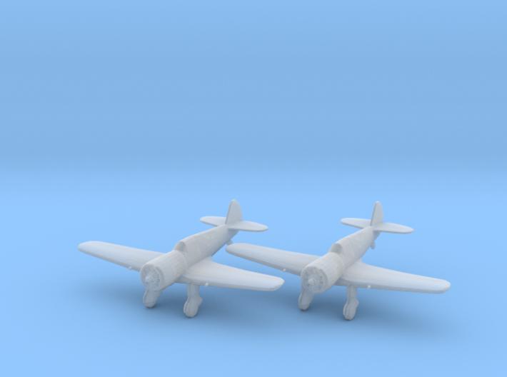 Curtiss 75N 'Hawk' 1:200 x2 FUD 3d printed
