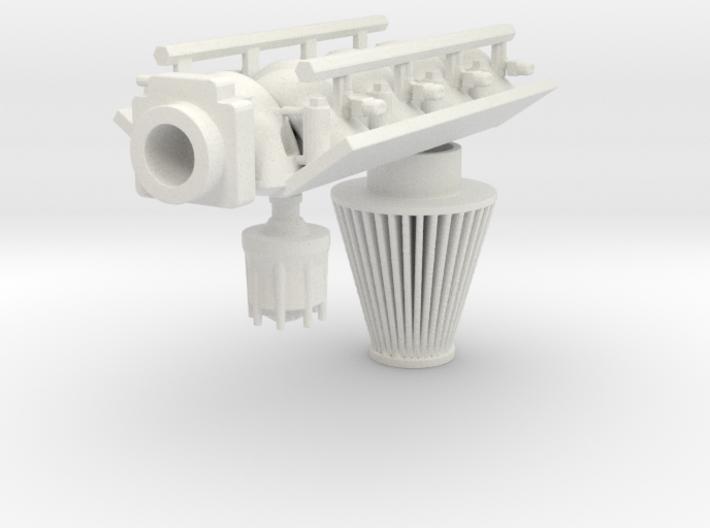 FAST Intake LS3 1/12 3d printed