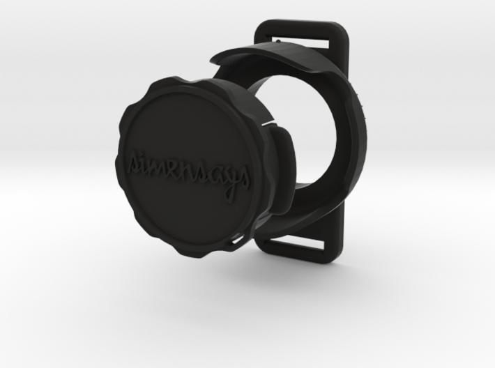 Simensays RetroHood™ (Loop), GoPro Lens hood 3d printed